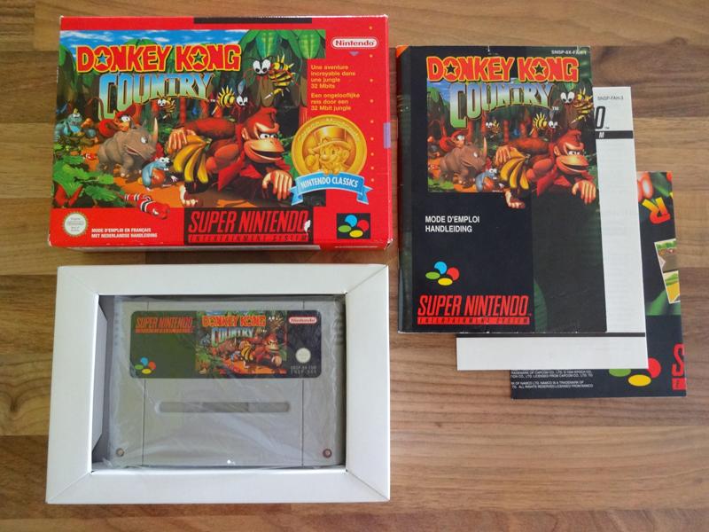 Prupru's Collection ! 100% Super Nintendo et 200% Super Comboy !! - Page 17 279148DonkeyKongCountryNFAH