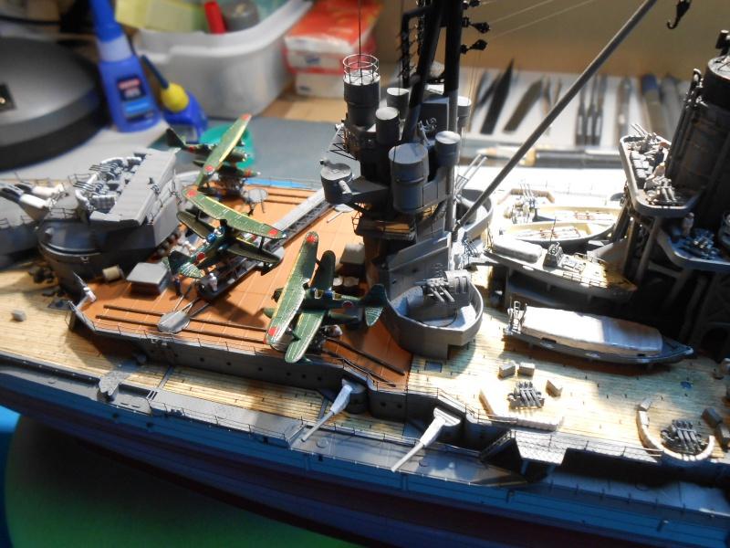 NAGATO 1/350 avec PE, Ponts en bois et babiolles  Hasegawa 280361DSCN6907
