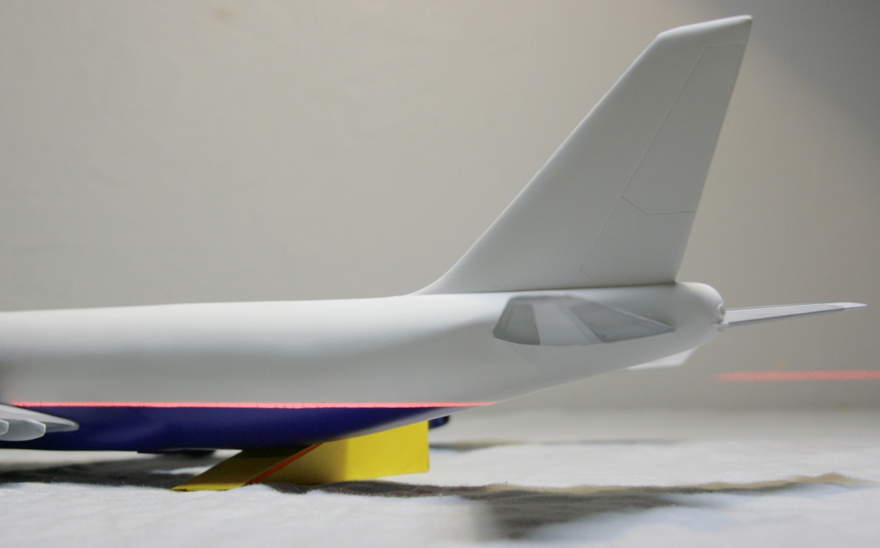 Boeing 747-4F British Airways revell 1/144 281191MG1029