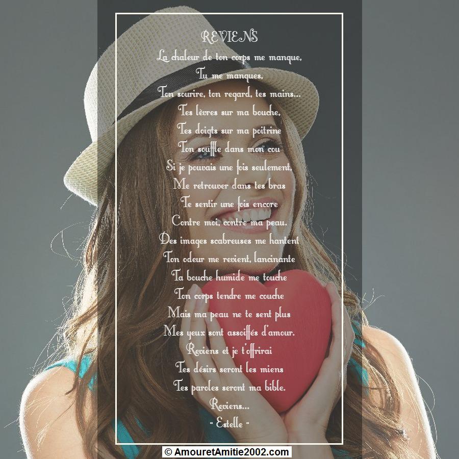 poeme du jour de colette 281390poeme150reviens