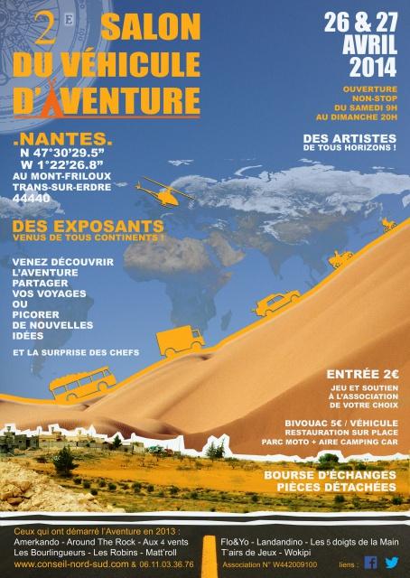 """1er """"Rétro Aventure"""" - auto/moto à NANTES 44440 Les 26 et 27 avril 2014 281629AffichesalonFinale2"""