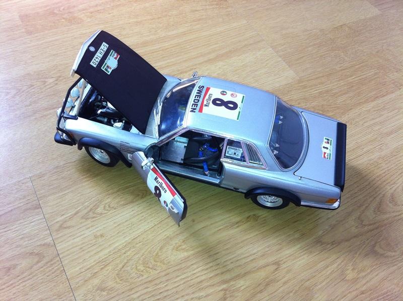 Mercedes 500 SLC Bandama 1980 RICKO  2820324601