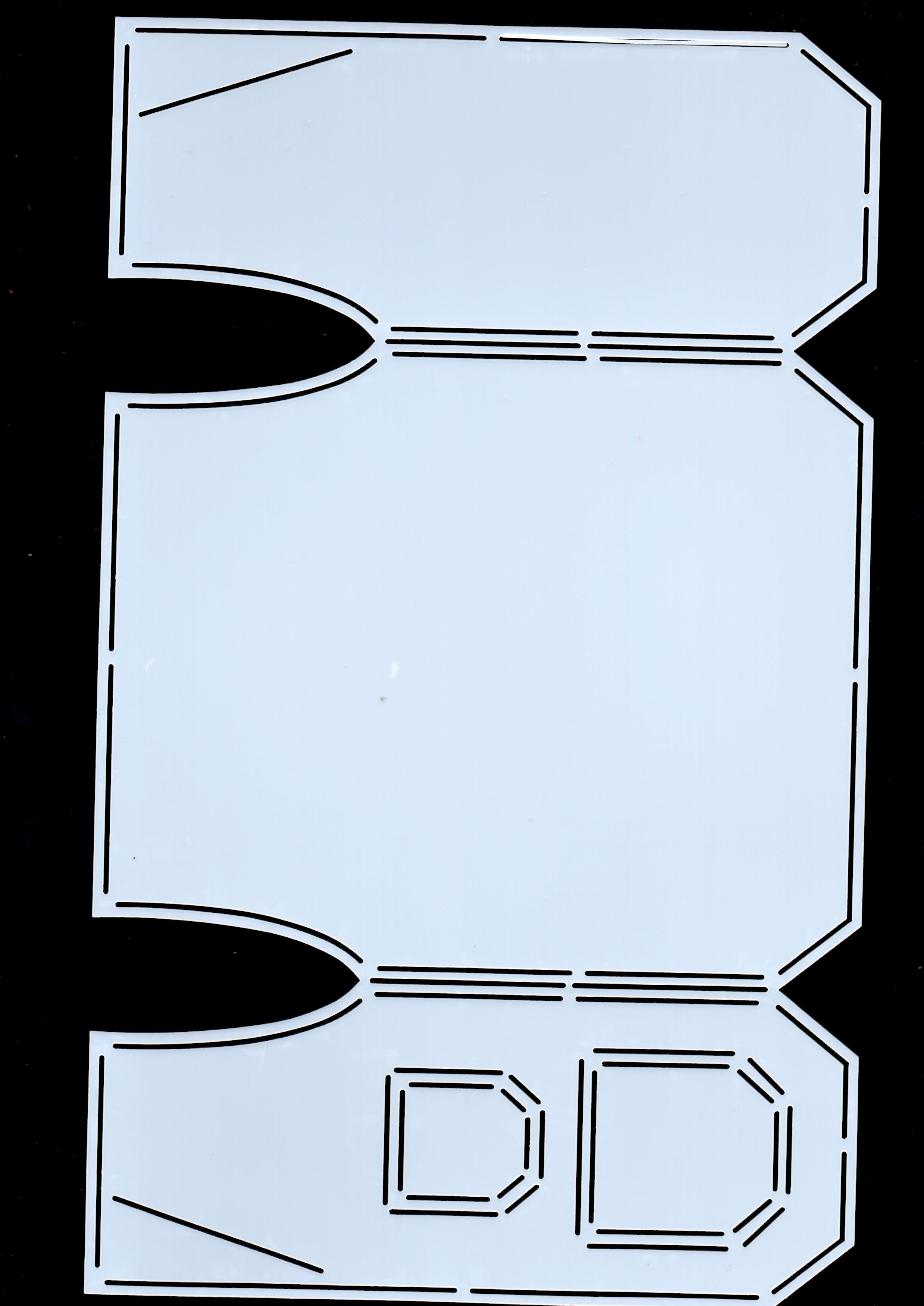 Carte gilet avec un dutch doobadoo   282187img003