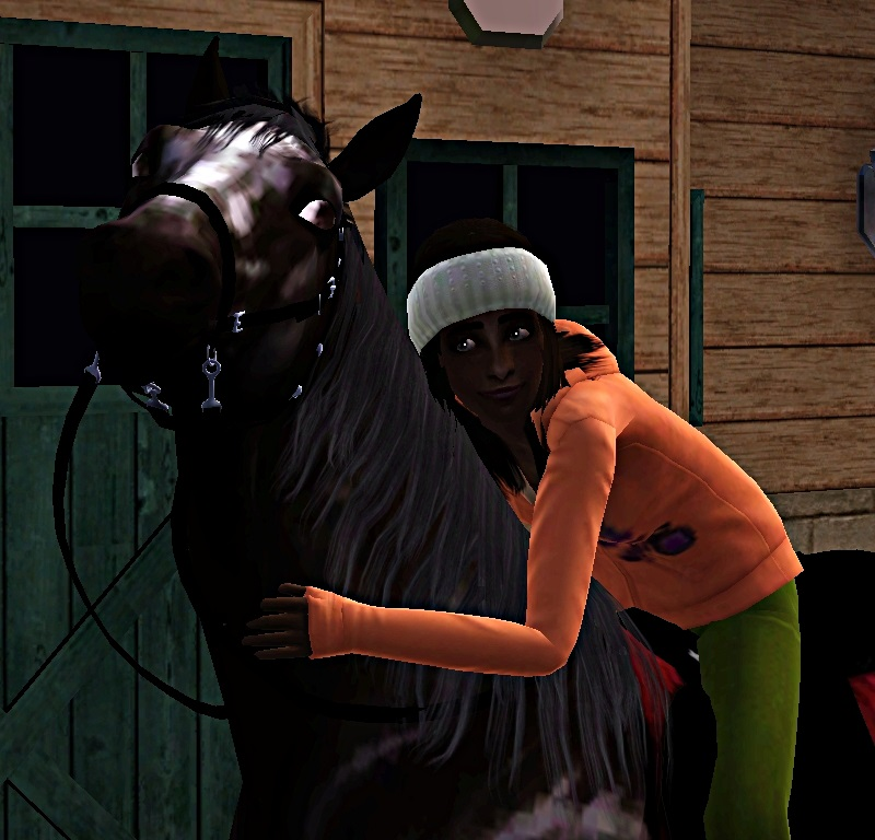 "[Challenge] Teens and Horses ""Sims 3"" - Page 3 284314premierconcours"