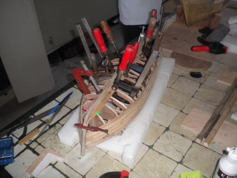 barque chalutiére au 1/20è d'après plans 284816DSCN2150