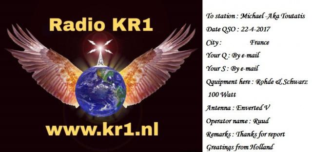 eQSL de KR1 286393KR1