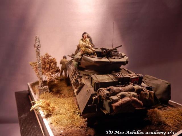 dio un achilles en Normandie terminé académy 1/35,figurines miniart 286762PA070005