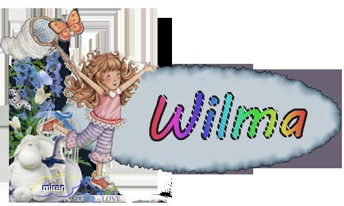 Nombres con W 2904321Wilma