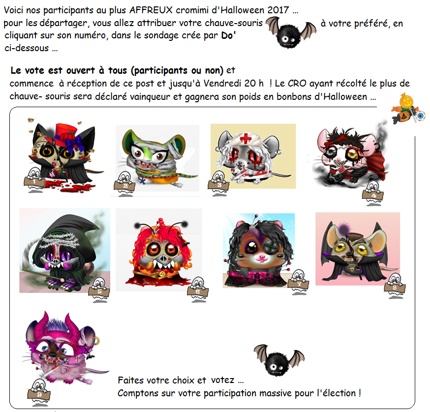 Concours : modalités d'organisation - Page 2 294312dfilHalloween