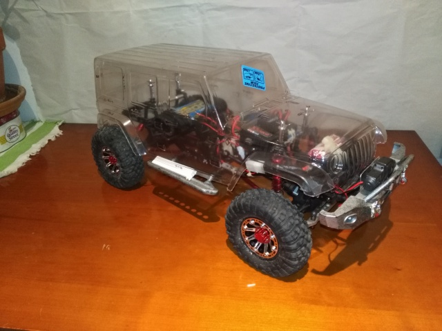 axial Scx10 - Jeep Umbrella Corp Fin du projet Jeep - Page 6 295446IMG20160923191858