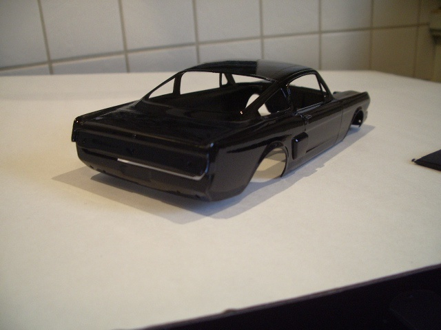 ford mustang GT 350 H au 1/24 295592coquepeint114