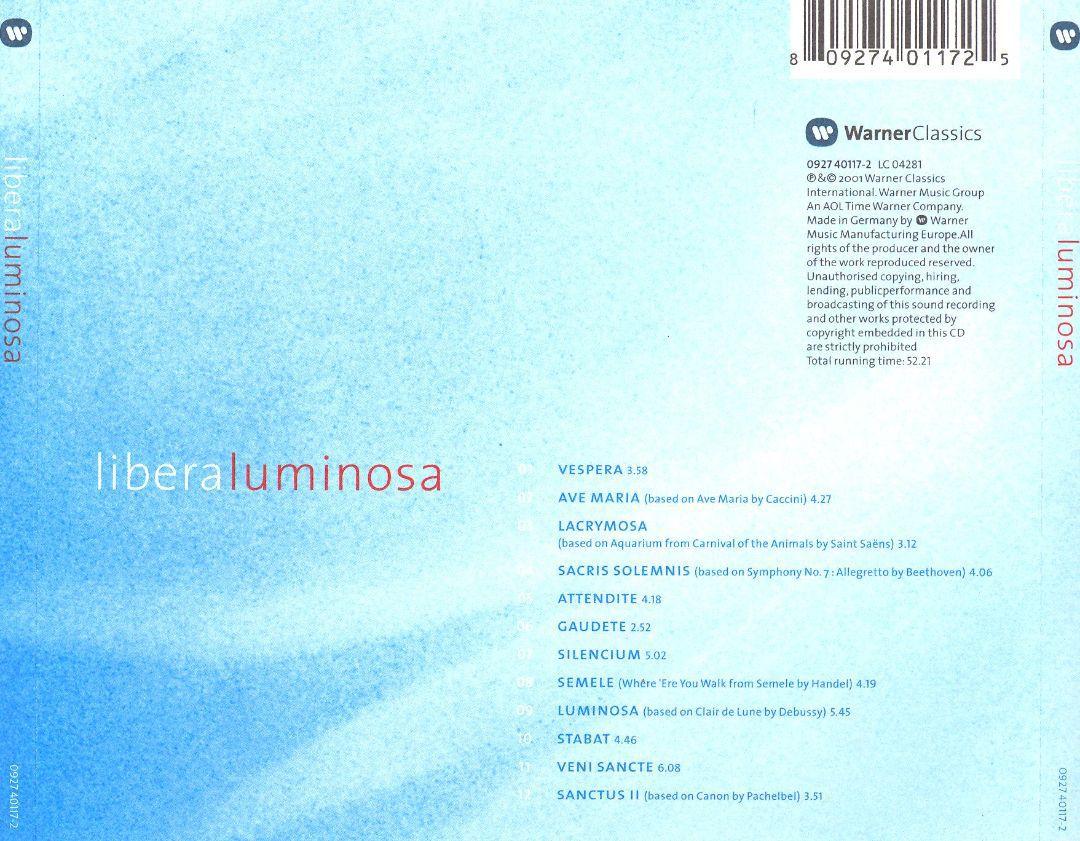 La discographie Libera 296470Doslarge