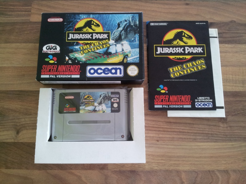 Prupru's Collection ! 100% Super Nintendo et 200% Super Comboy !! - Page 16 297875JurassicParkTheChaosContinues