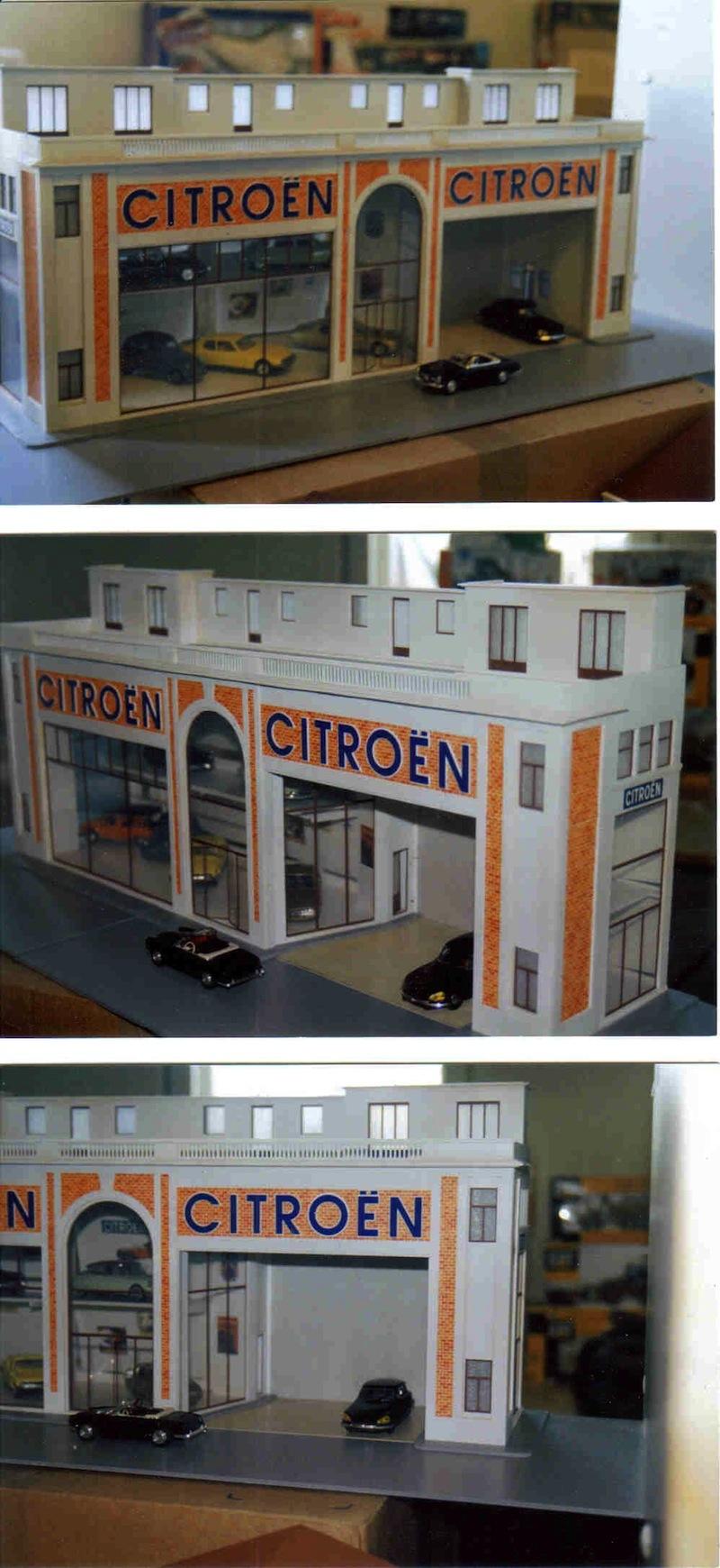 Hervé WAGUET Garages et bâtiments divers miniatures au 1/43 298911423