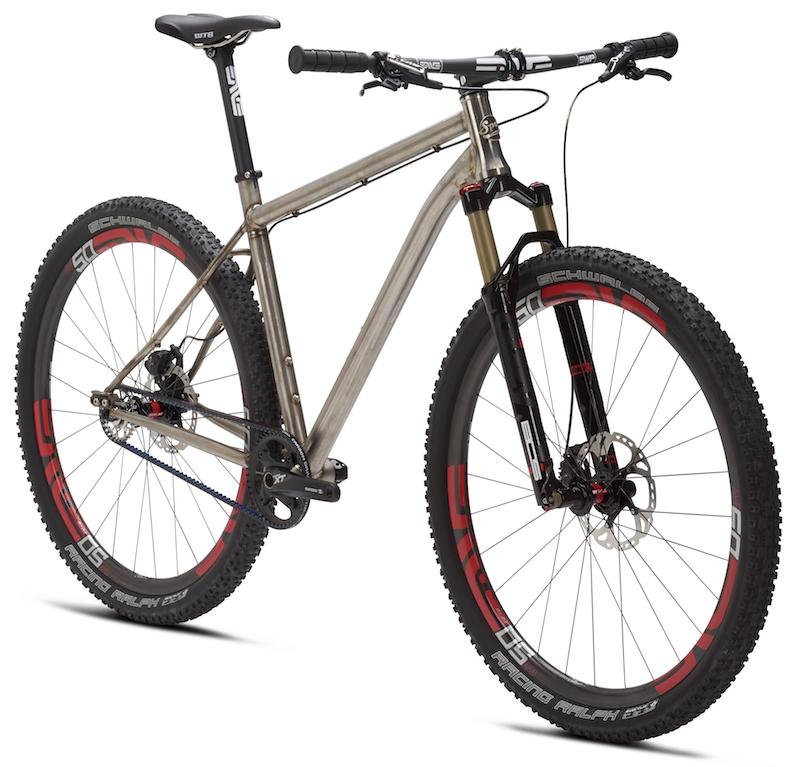 Spot Brand 299237Spotbrandcreamtitaniumsinglespeedmountainbike2