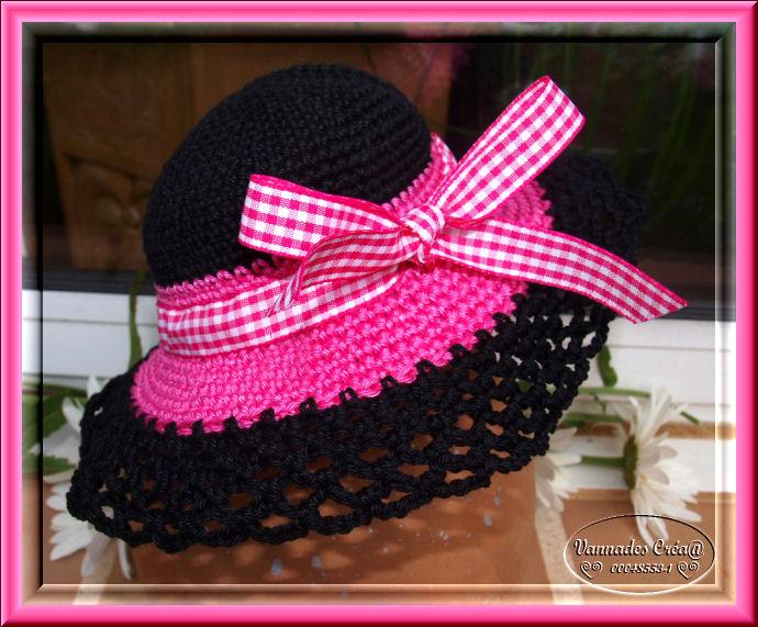 """Miss """" Lancy"""" poupée au crochet 299348chapeau"""