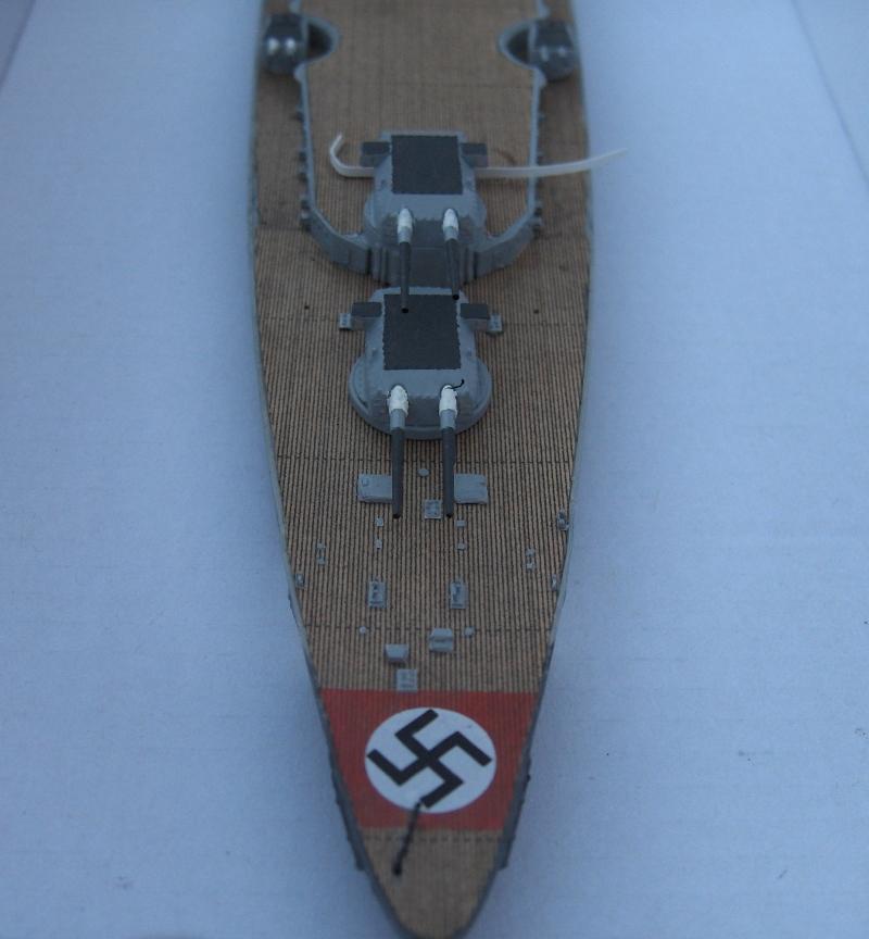 Bismarck 1/700 [Trumpeter] 299655HPIM1932