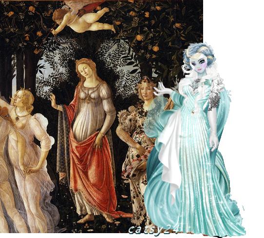 défi N°6 : Le primtemps - Sandro Botticelli chez youmi549 300425tableaun6070916
