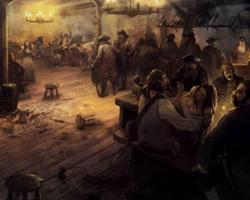 La taverne « Sea's Wine »