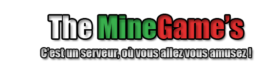 The Minecraft Games - Serveur de jeux minecraft français !