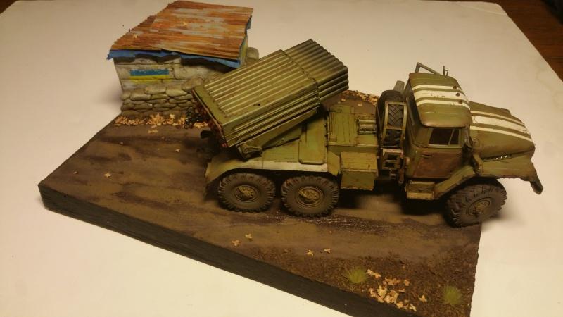 BM-21 GRAD 1/35 TRUMPETER 30709920161111211054