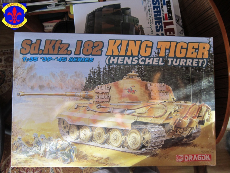 SD.KFZ.182 King Tiger a tourelle Henschel 309088IMG0196L