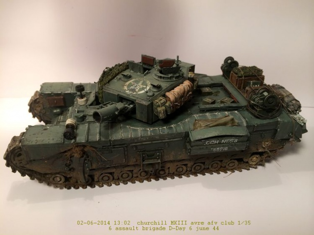 Churchill avre mk3  de chez afv club 1/35 - Page 2 310466002
