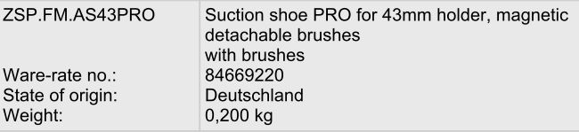 CNC Sorotec Compact Line 0604 310847SuctionShoes