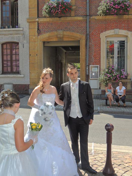 mariage de mon filleul benjamin avec cindy  3118159852