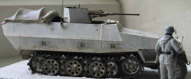 sd.kfz 251/17 ausf D 2cm schwebelafette  Dragon 1/35 314285IMG0066