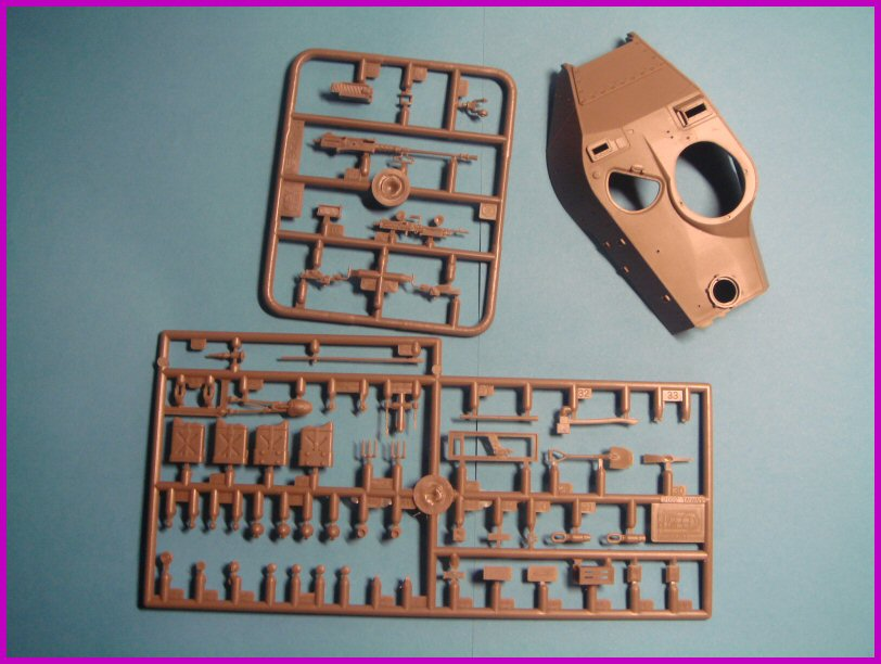 Le M41A3 light tank Wallker Bulldog au 1/35ème AFV club 315518walter004