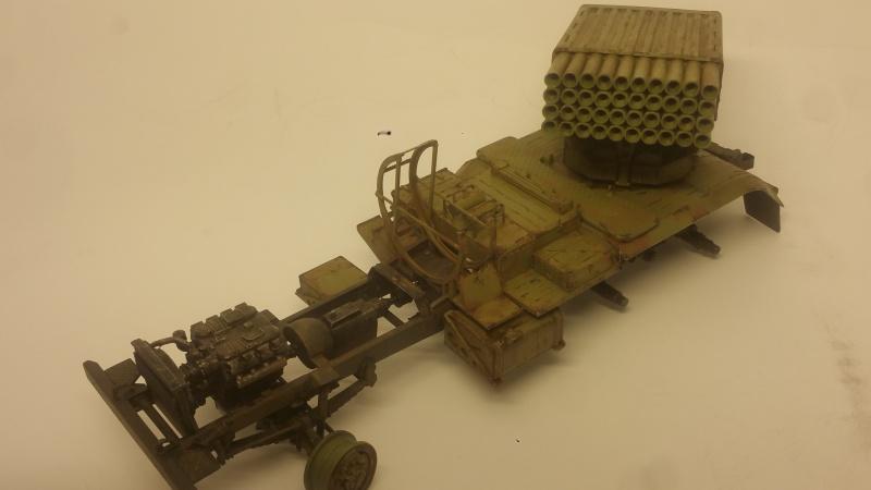 BM-21 GRAD 1/35 TRUMPETER 31596620161108194522