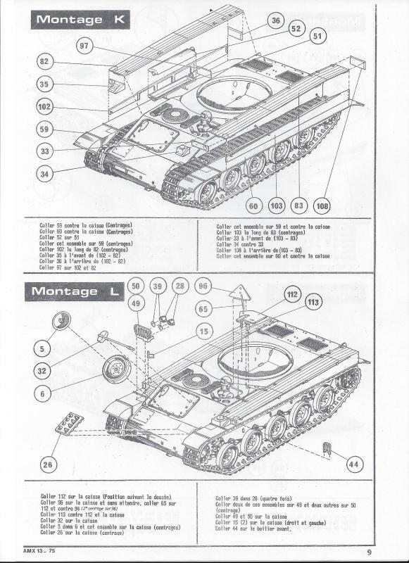 AMX 13 canon de 75 - (Réf. L784) 1/35 316245AMX1375784010Heller135