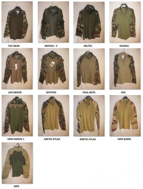 UBAS - Combat Shirt 318057UBASCombartShirtCEDaguetMulticam