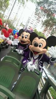 "(Hong Kong Disneyland) Disney's Sparkling Christmas 2013 + Programme ""Pump up Little Moments of Happiness"" 319019hk2"