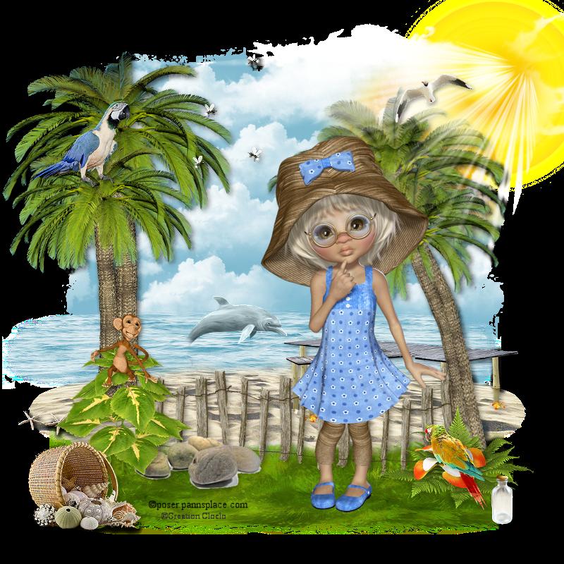 Tropical summer 323091cloclo