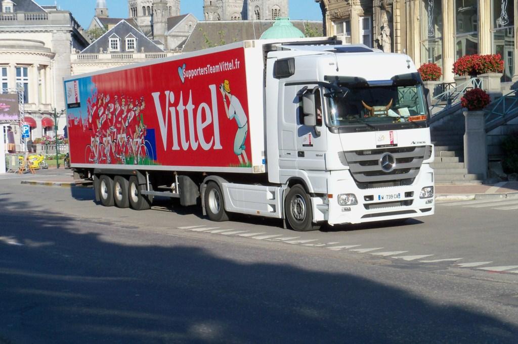 La publicité sur les camions 3281341010227