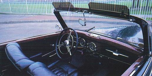 Mercedes 170 et 220. La renaissance 330778220intrieur