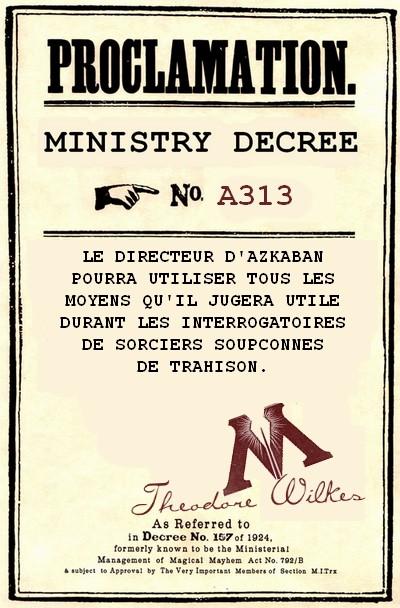 Décrets du ministère de la Magie 335840DECRET5