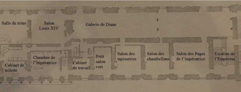 Reconstitution virtuelle du Palais des Tuileries, états Premier Empire et Second Empire 337111planappt1860