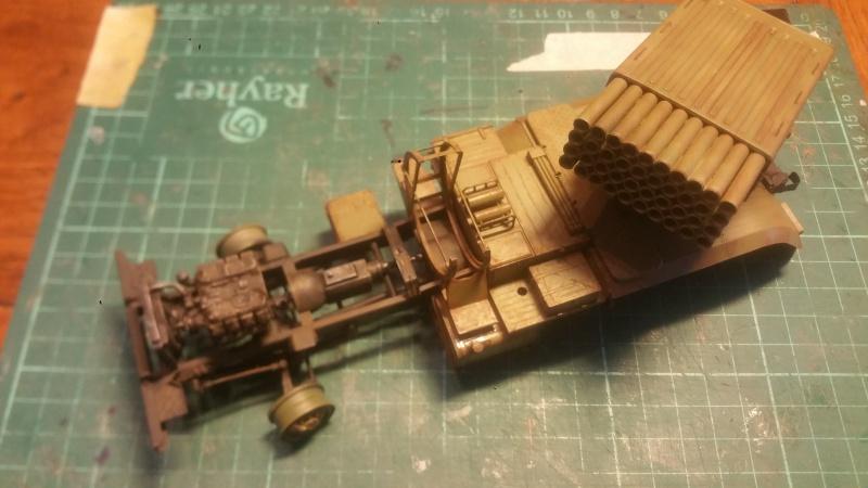 BM-21 GRAD 1/35 TRUMPETER 33771620161108145047