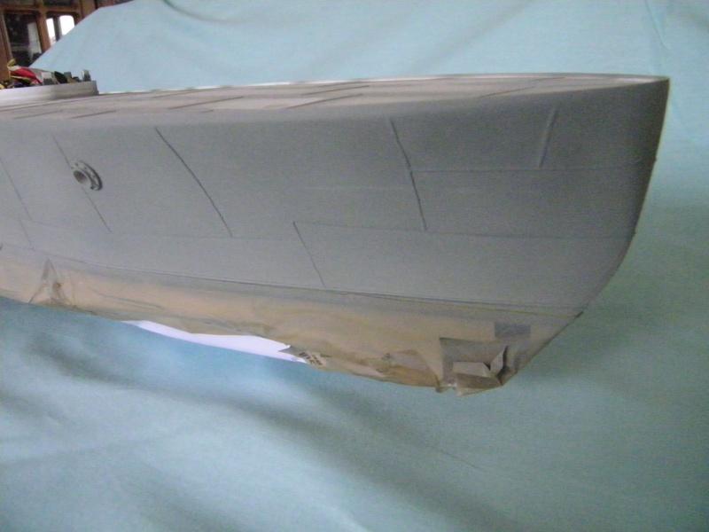 Russian gunboat Bk 1124 au 1/20e sur plan  - Page 5 3381641004283