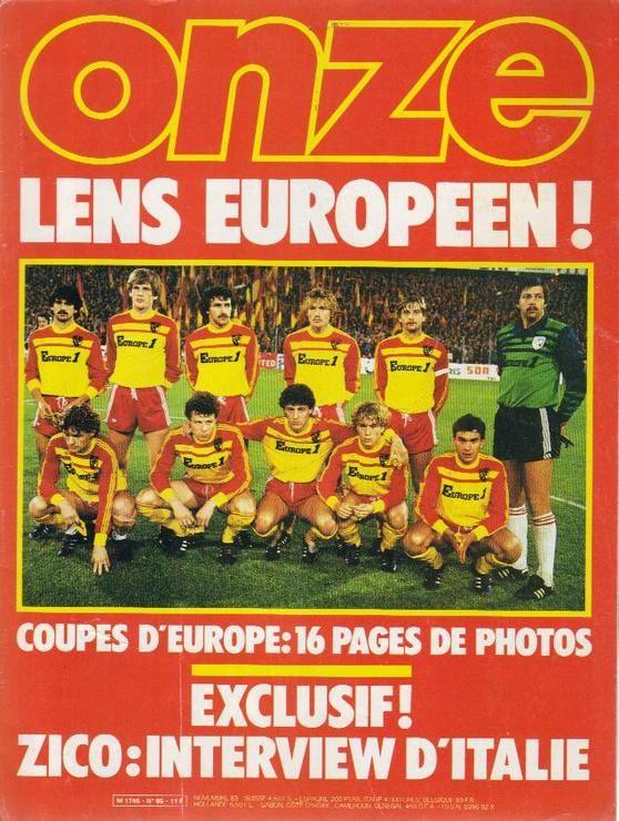 Vieux France Football consacré au RC Lens 339122687426752