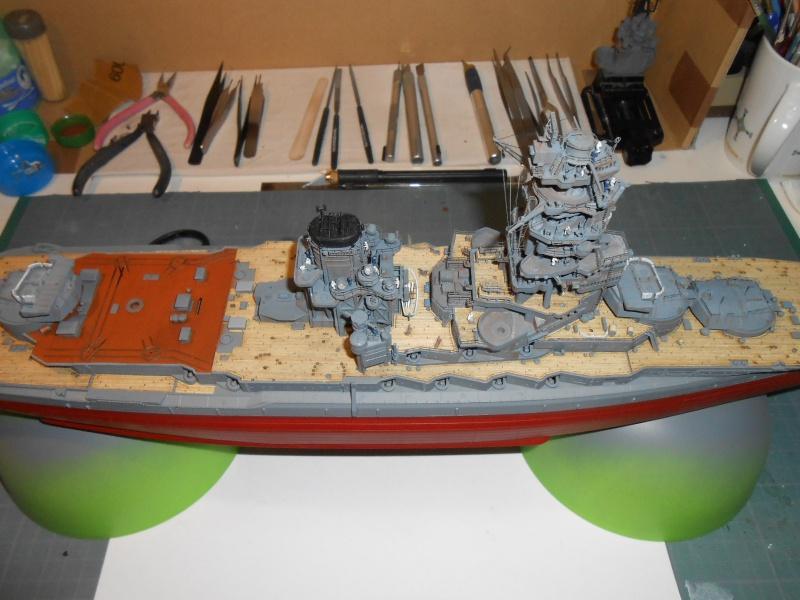 NAGATO 1/350 avec PE, Ponts en bois et babiolles  Hasegawa 343381DSCN6773
