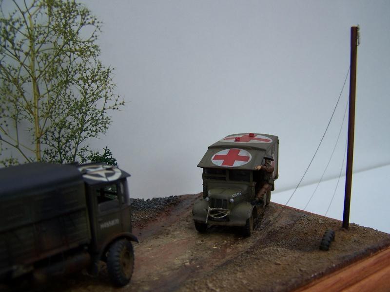 """AEC Matador et Ambulance Austin K2 """"au détour d un chemin"""" 343460MatadorAustinK2040"""