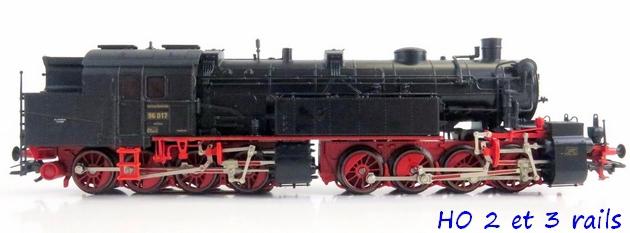 Les locomotives à vapeur articulées 344465Marklin3496BR96017MalletderDRGDelta2R