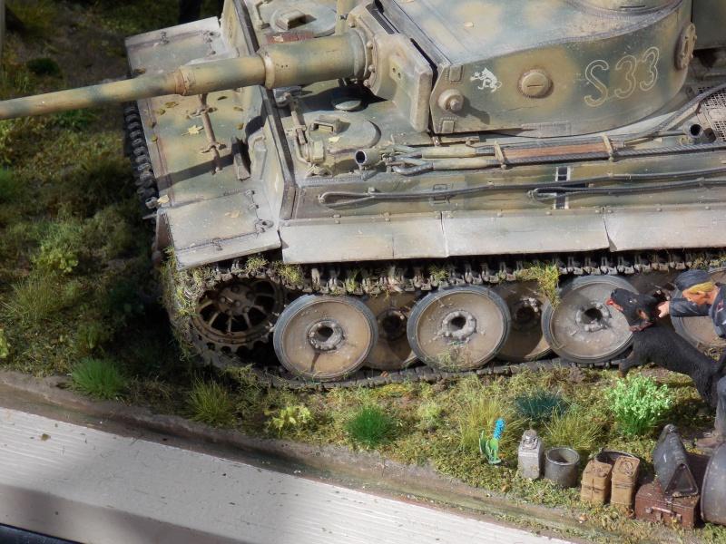 TIGRE S33  avant la bataille de Koursk juillet 43 (Dragon 1/35 dio DIODUMP) - Page 10 346227DSCN4786