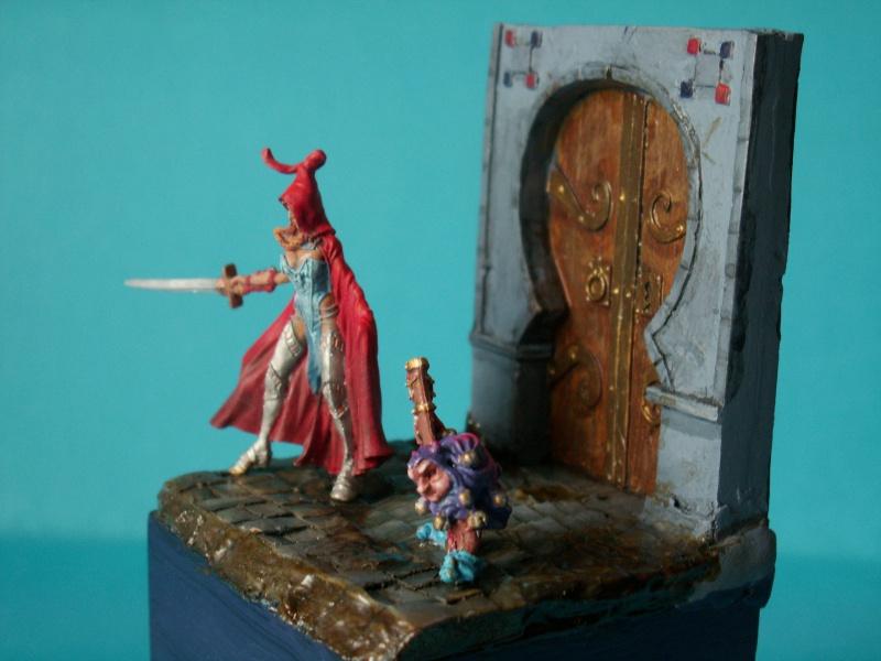 Isabeau la secréte et son porte épée. Marque Rackham 28 Mm 347736PICT0020