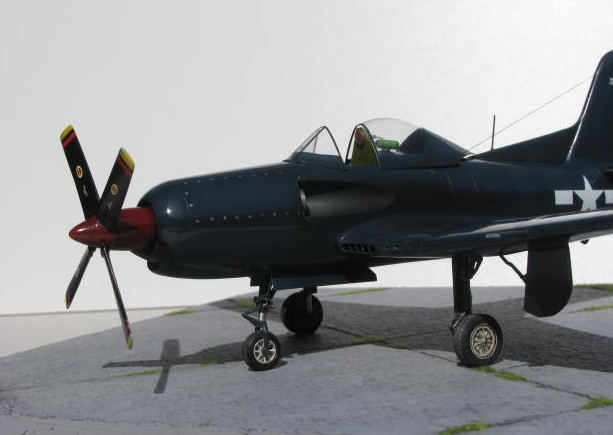 Montage terminé: Ryan XF2R-1 Czech Model 1/48 349289IMG1408