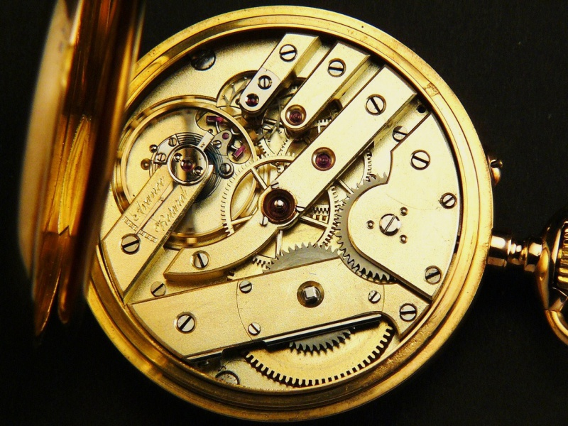 chronographe de poche Breguet 349503DEMISAVONNETTE019